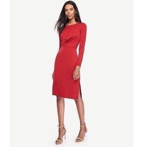 NWT Ann Taylor Draper Sheath Jersey Dress